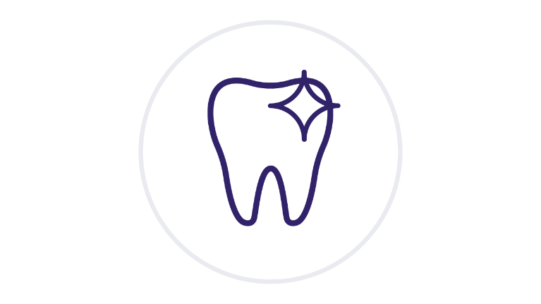 Healthy tooth icon
